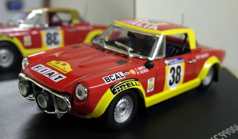 Vitesse échelle 1 43 SKC99006 fiat 124 abarth east african safari rally 1974 modèle