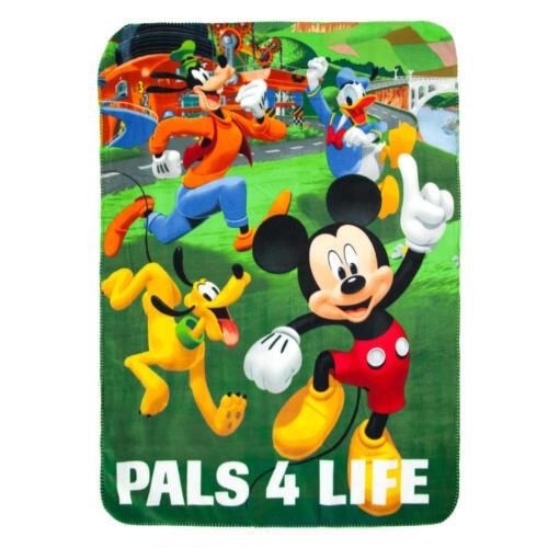 Disney KIDS THROW BLANKET MICKEY MINNIE PRINCESS CARS SPIDER-MAN TROLLS POKEMON