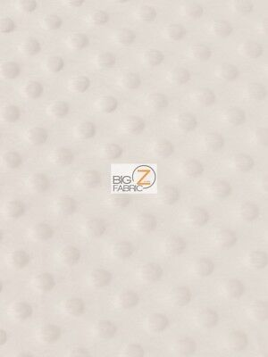 """DIMPLE DOT MINKY FABRIC Camel 60/"""" SEW-SOFT BABY FABRIC RAISED CHENILLE"""
