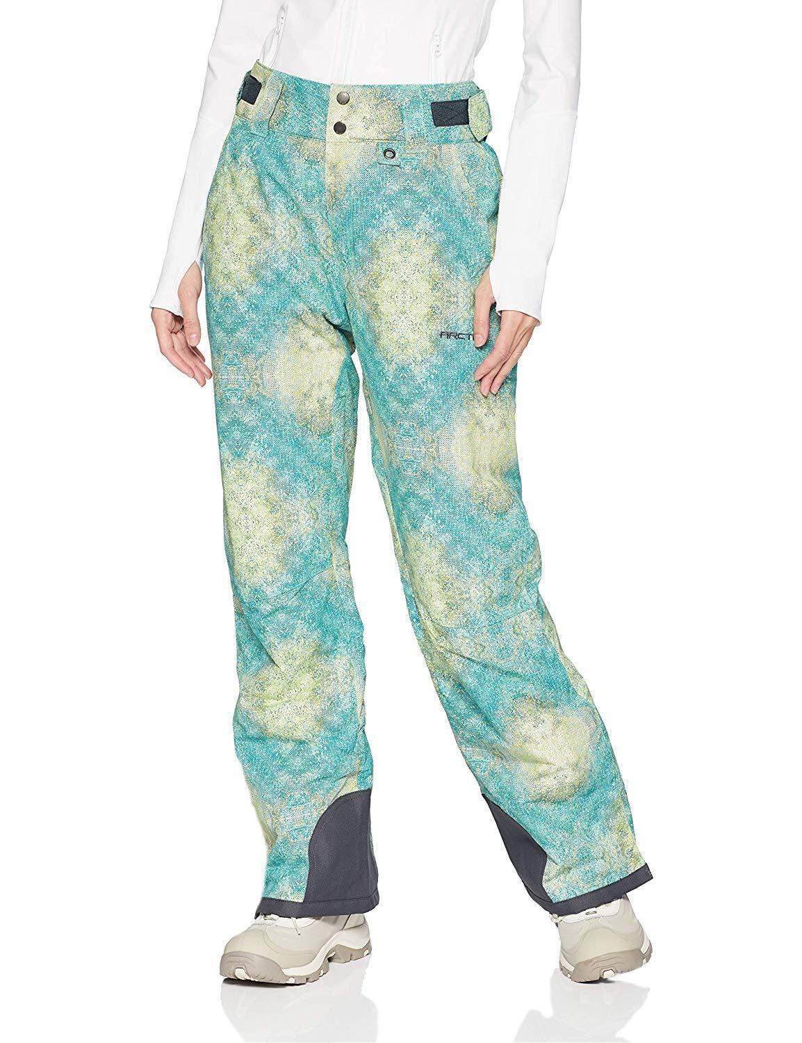 Arctix Insulated Snow Pants - Women's - Ombre Teal - Small