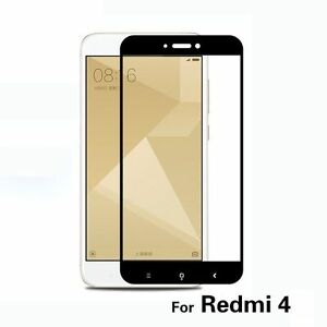 Xiaomi Redmi 4 Full 2.5D Curve Edge to Edge Tempered Glass Screen Protector +TPU