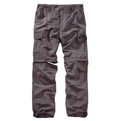 SURPLUS™ Raw Vintage OUTDOOR TROUSERS QUICKDRY Trekking Hose + Shorts in einem
