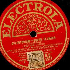 SISTINE CHOIR  Palestrina: Offertorium / Improperia; Schellackplatte  G2216
