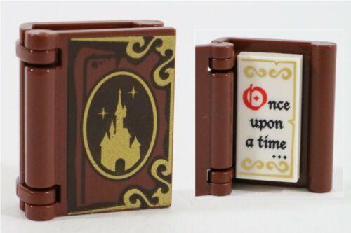 LEGO DISNEY CASTLE MINIFIGURE STORY BOOK PART X1 /& ONCE UPON A TIME TILE
