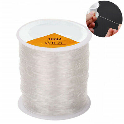 Clear Crystal Elastic Thread Ideal For Making Bracelets /& Necklaces
