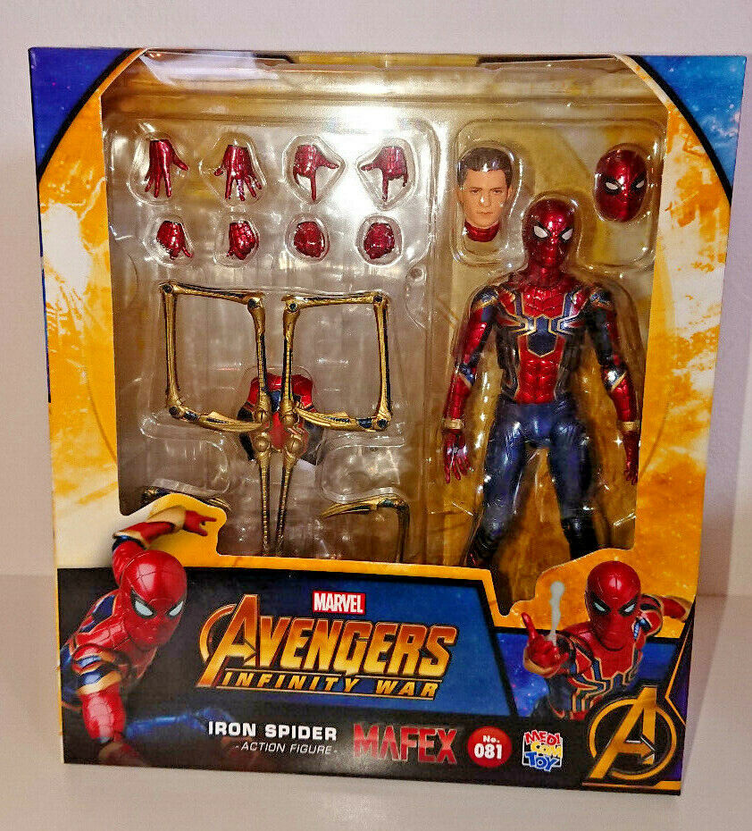 MAFEX Avengers Infinity War Iron Spider Action Figure Marvel