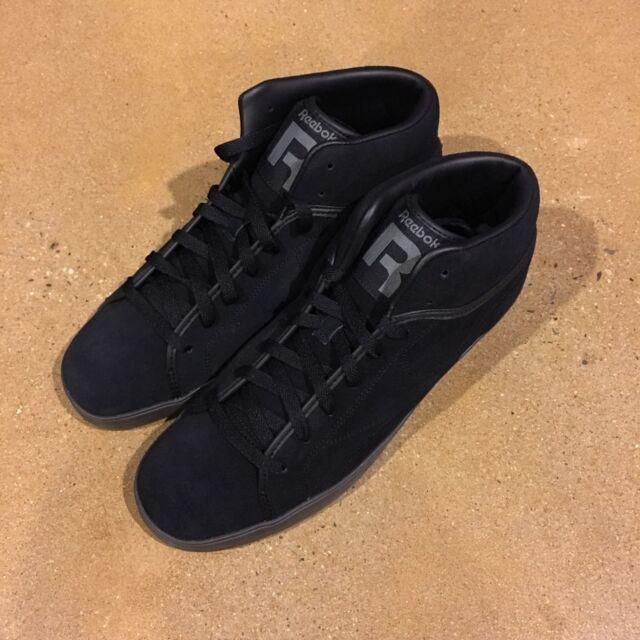 bea86e3bf709ac Reebok T Raww Tyga Size 12 US Men s Black Ironstone High Top Shoes ...