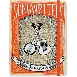 Songwriter-039-s-Journal-Hardcover-for-music-and-lyric-writing-write-72-songs