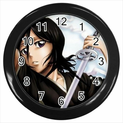 Anime Manga Rukia Kuchiki Bleach Wall Clock