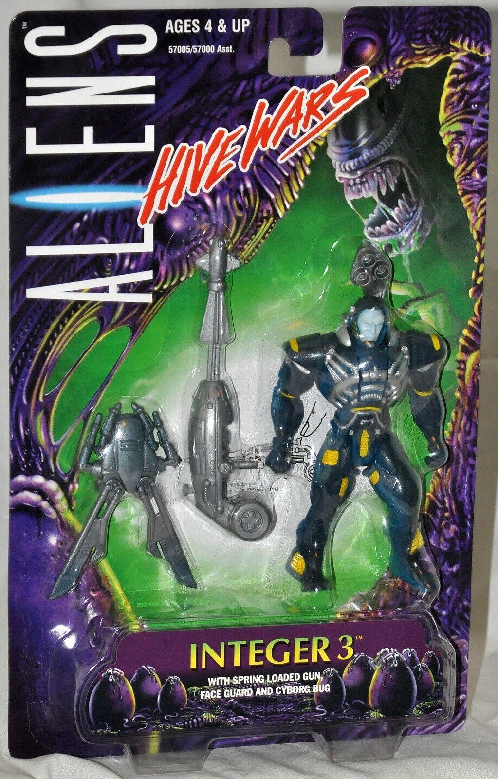 ALIENS Hive Wars Integer 3 figure figure figure with Spring Loaded Gun MOC 57005 Kenner 1998 d4ce3f