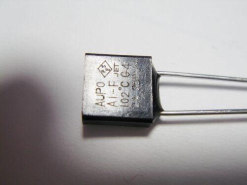 102°C 2A 250V Thermosicherung Temperatursicherung Sicherung #21-1062/%