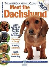 Meet the Dachshund (American Kennel Club's Meet the Breeds)-ExLibrary