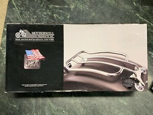 Solo Luggage Rack 7 Chrome for Touring Models 97-UP