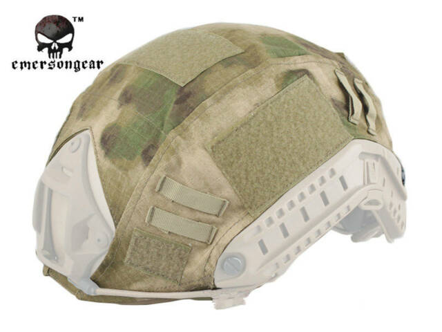 fe8858f3fed EMERSON Tactical FAST Helmet COVER Combat Gear Airsoft Multicam Camo EM8825  ATFG