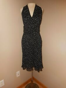 d6cd11227d Evan Picone Sleeveless Dress - Black with white dots career other sz ...