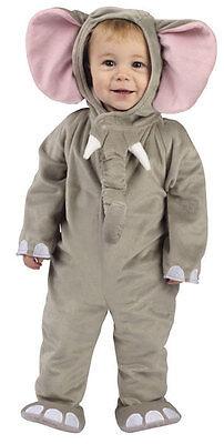 Baby Jungen Mädchen Grau Elefant Tier Halloween Kostüm ...