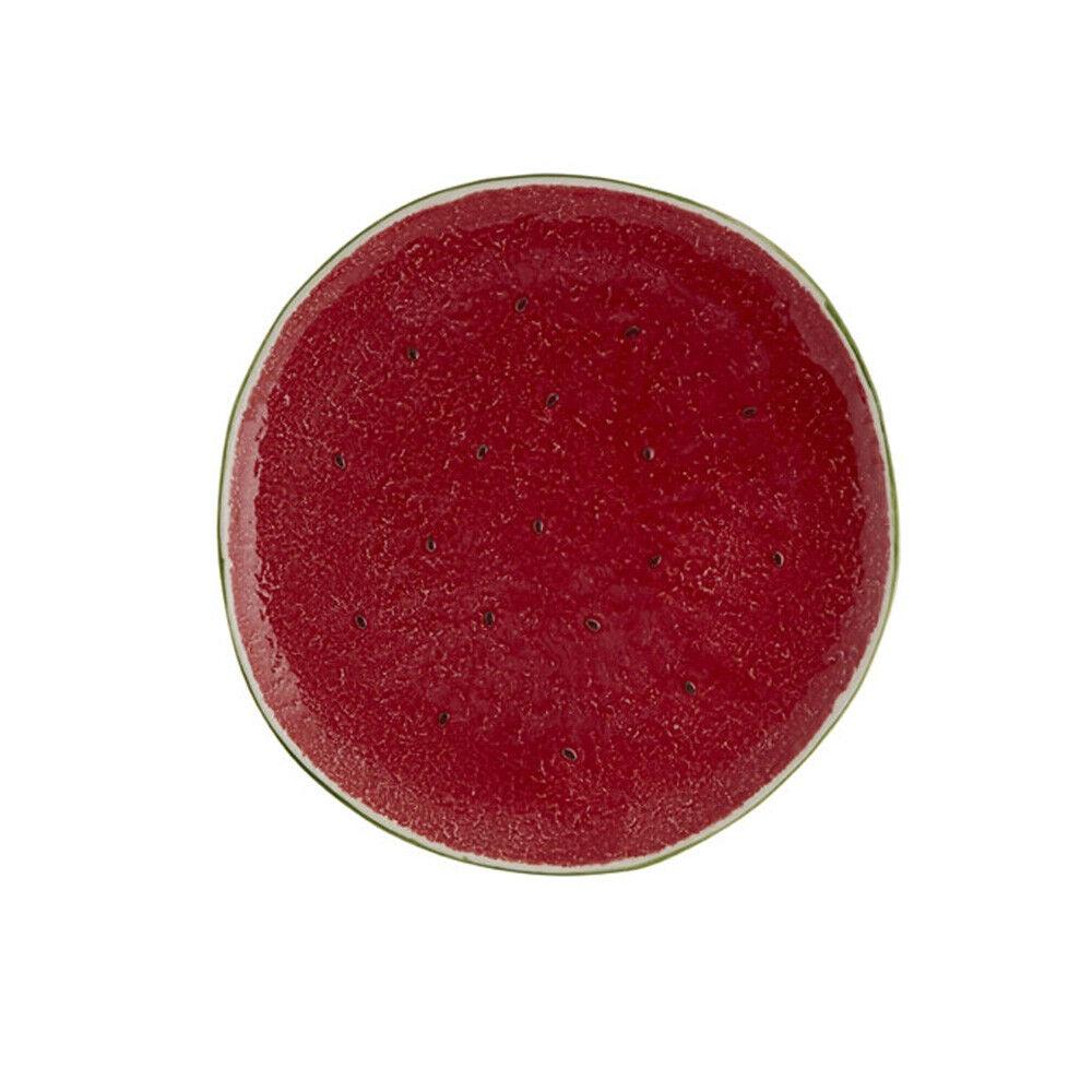 Bordallo Pinheiro Watermelon Fruit Plate 21 - Set of 4