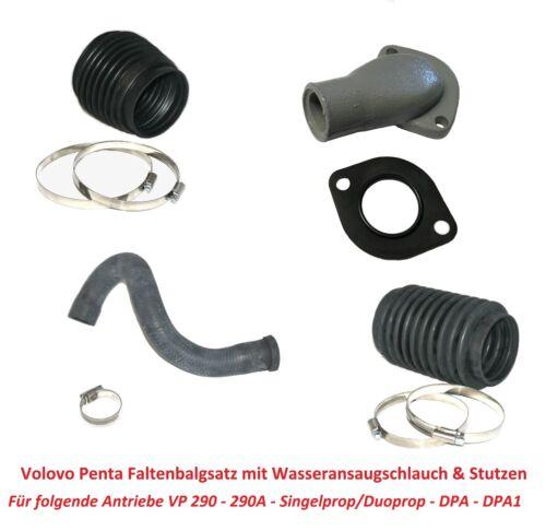 Faltenbalg Set Volvo Penta Antrieb 290//290A//DP//SP//DPA//DPA1 Z-Antrieb Sterndrive
