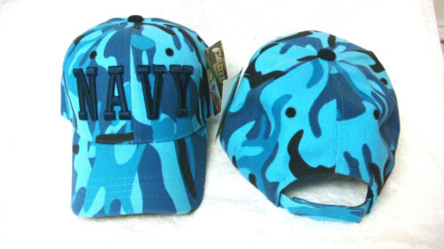 one size fits most Rapid Dominance US Navy Blue Camo Sports cap
