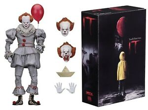 It-Pennywise-2017-film-Ultimate-7-034-Scale-Action-Figure-NECA-En-Stock