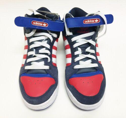 Gris Azul Nuevo Medio Zapatillas Adidas Mujer Zapatos Rojo Blanco Decada wnqv4PHY