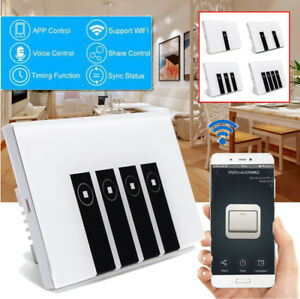 1-2-3-4-Smart-WiFi-Remote-Glass-Panel-Touch-Screen-Wall-Light-Switch-Control