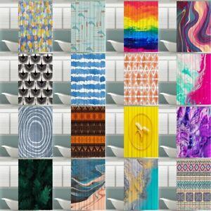 Stoff-Duschvorhang-71-034-x71-034-Anti-Schimmel-Textil-Badewannenvorhang-Wannenvorhang