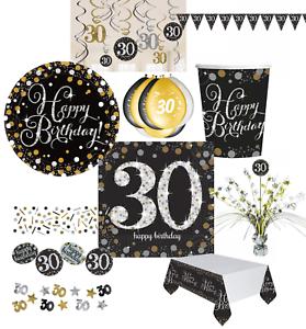 30 Geburtstag Dekoration Mit Zahl 30 Deko Runder Geburtstag Party