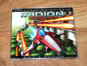 Iridion-3D-amp-II-Arranged-Soundtrack-Promo-Not-for-Sale-Game-Boy-Advance-GBA-Rare