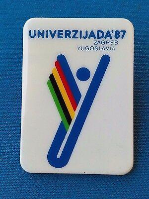 Hanžeković Memorial ATHLETICS ! Student Olympic games UNIVERSIADE 1987 Zagreb
