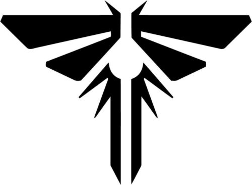 Last Of Us Firefly Logo Vinyl Car Window Laptop Decal Sticker