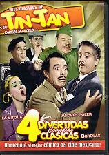 Hits Clasicos de Tin-Tan, BRAND NEW FACTORY SEALED SPANISH DVD (2010, Itza)