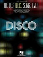 The Best Disco Songs Ever Sheet Music Piano Vocal Guitar Songbook 000312565