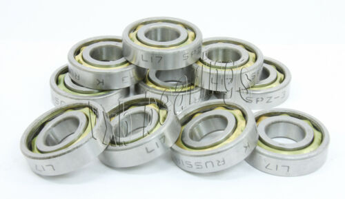 10 Thrust//Angular Contact Bearing 17mm x 40mm x 10mm