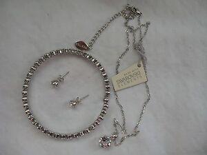 e16277ed0 Image is loading Mestige -New-Swarovski-Elements-Bracelet-Earrings-Necklace-Crystal-