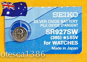 SR927SW-395-Seiko-Battery-Brand-New