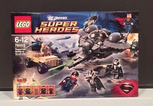 LEGO-76003-Super-Heroes-Superman-Battle-of-Smallville-Brand-New-In-Box