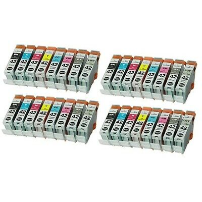 32 PK Ink Cartridges Chip use for Canon CLI-42 CLI42 Printer Pro100 Pro-100