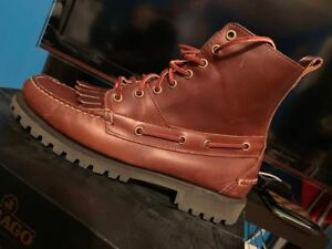 fd5ab43ec76 Details about Ronnie Fieg x Sebago Delancey Boot Size 9 Kith Vibram outsole  DS NEW
