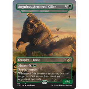 1x Anguirus Armored Killer *ENGLISH* MTG IKO Ikoria Gemrazer Godzilla