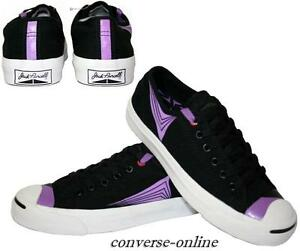 Womens Black Purcell Boys Jack 5 Star Size Shoes All Uk Purple Converse Trainers rxYTFq6nrw