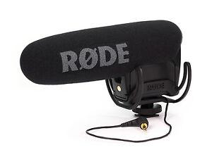 Rode-VideoMic-Pro-Directional-On-camera-Microphone-R-DE-VMPR-Open-Box-Demo