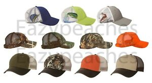 DRI-DUCK-Mesh-Back-Hats-Realtree-Max4-Camo-Buck-Mallard-Duck-Trucker-Cap