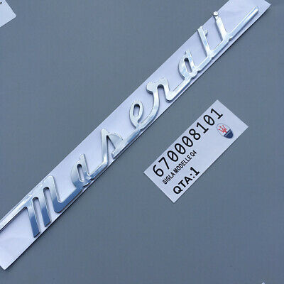 Car Auto Accessories Front Grille Emblem Decal Badge Logo Sticker For Maserati