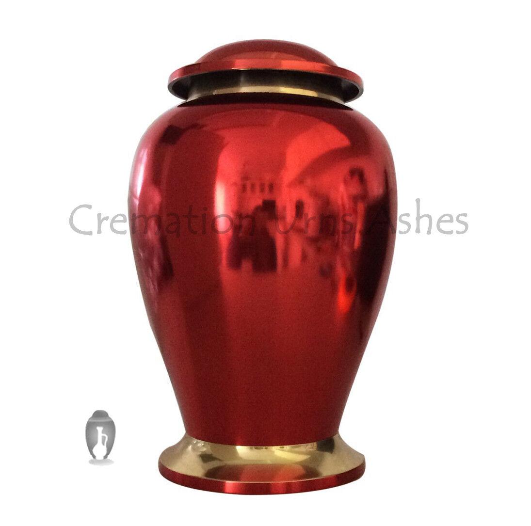 Adulto Cremación Grande Contenedor - Lectura Rubí Urna Crematoria Para Cenizas