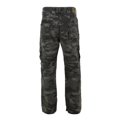 "KAM HEAVY DUTY CAMOUFLAGE CARGO TROUSERS BIG  40/""42/""44/""46/""48/""50/""52/""54/""56/""58/""60"