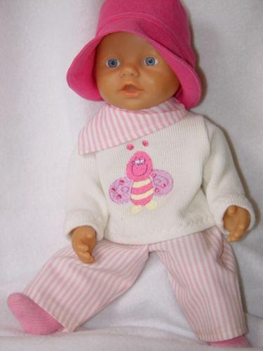 Sonstige Babypuppen Für little Baby Born  Kleidung Puppenkleidung 5 Babypuppen & Zubehör TLG.