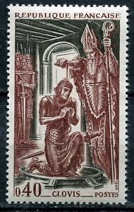 STAMP-TIMBRE-FRANCE-NEUF-LUXE-N-1496-HISTOIRE-CLOVIS