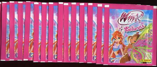 15 pochettes PANINI....WINX CLUB...BELIEVIX
