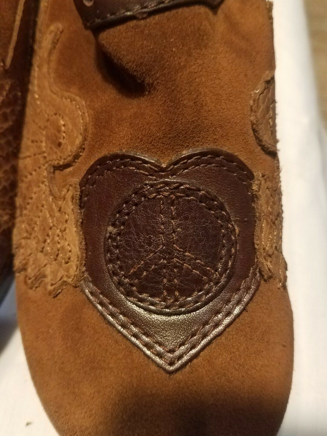 Lucky Donna LK-fable Mule Wedge Shoe brown brown brown leather Size 7.5 M   new in box 476280
